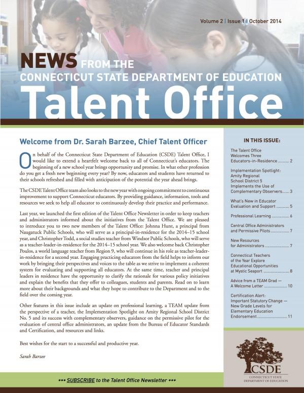 TalentOfficeNewsletter_Oct2014